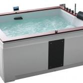 Гидромассажная акриловая ванна Gemy G9052 II K R, 186 х 151 см