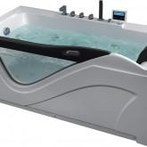 Гидромассажная акриловая ванна Gemy G9055 K L, 181 х 92 см