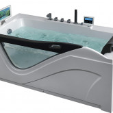 Гидромассажная акриловая ванна Gemy G9055 O L, 181 х 92 см