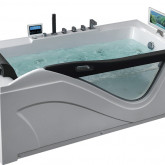 Гидромассажная акриловая ванна Gemy G9055 O R, 181 х 92 см
