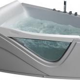 Гидромассажная акриловая ванна Gemy G9056 B L 170 x 130 x 75