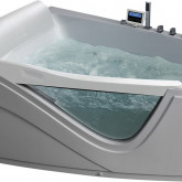 Гидромассажная акриловая ванна Gemy G9056 K L, 170 х 130 см
