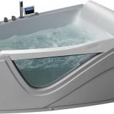 Гидромассажная акриловая ванна Gemy G9056 O R, 170 х 130 см