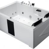 Гидромассажная акриловая ванна Gemy G9061 K L, 181.5 х 121.5 см