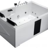 Гидромассажная акриловая ванна Gemy G9061 K R, 181.5 х 121.5 см