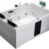 Гидромассажная акриловая ванна Gemy G9061 O R, 181.5 х 121.5 см