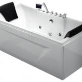 Гидромассажная акриловая ванна Gemy G9065 K L, 175 х 85 см
