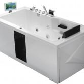 Гидромассажная акриловая ванна Gemy G9066 II O L, 171 х 86 см