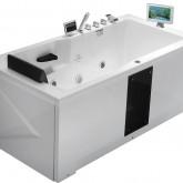 Гидромассажная акриловая ванна Gemy G9066 II O R, 171 х 86 см