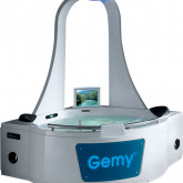Гидромассажная акриловая ванна Gemy G9070 O, 170х170х225 см