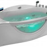 Гидромассажная акриловая ванна Gemy G9072 K R, 171 х 92 см