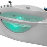 Гидромассажная акриловая ванна Gemy G9072 O L, 171 х 92 см
