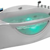 Гидромассажная акриловая ванна Gemy G9072 O R, 171 х 92 см