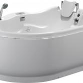Гидромассажная акриловая ванна Gemy G9083 K R, 180 х 121 см
