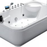 Гидромассажная акриловая ванна Gemy G9085 K R, 180 х 116 х 69 см