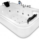 Гидромассажная акриловая ванна Gemy G9085 O L, 180 х 116 см