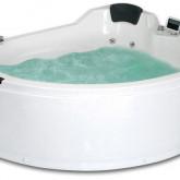 Гидромассажная акриловая ванна Gemy G9086 O R, 170 х 133 см