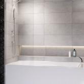 Шторка для ванны Radaway Modo New PNJ 70 профиль хром , стекло прозрачное