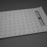 Прямоугольная душевая плита - трап вдоль короткой стороны