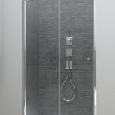 Душевая дверь в нишу Radaway Arta DWB 90 левая ,фурнитура хром , стекло прозрачное