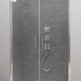 Душевая дверь в нишу Radaway Arta DWD 95 , фурнитура хром , стекло прозрачное