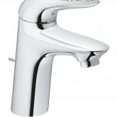 Смеситель для раковины GROHE Eurostyle new с донным клапаном и энергосберегающим картриджем, хром (23374003)