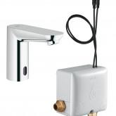 Инфракрасный вентиль для раковины GROHE Euroeco CE (без функции смешивания воды), с энергонакоплением, хром (36384000)