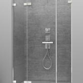 Душевая дверь Radaway Arta DWJS 130 левая , фурнитура хром , стекло прозрачное