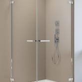 Дверь для душевого уголка Radaway Arta KDD I 100 левая , фурнитура хром , стекло прозрачное