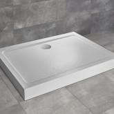 Душевой поддон Doros D Compact 100x90 Stone White
