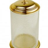 Ведро Boheme Palazzo Nero 10158 золото / стекло кракле