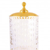 Ведро Boheme Imperiale 10424 золото /кракелюровое стекло