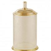 Мусорное ведро Boheme Murano 10914-W-G золото