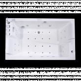 Акриловая гидромассажная ванна Orans OLS-BT62115BL