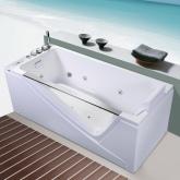 Акриловая гидромассажная ванна Orans OLS-BT65108 L