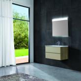 Зеркало со встроенной подсветкой ES-3804 RD. Размер: 80х70х5