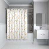 Штора для ванной комнаты IDDIS Elegant 200*200 см elegant gold