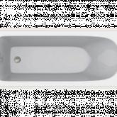 Акриловая ванна C-Bath Geba CBQ009001 170 х 75 см, белая