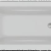 Акриловая ванна C-Bath Muse CBQ011002 180 х 70 см, белая