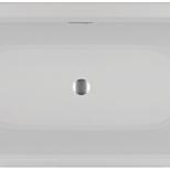 DESIRE CORNER LINKSVELVET - WHITE MATTRIHO FALL - CHROMSPARKLE SYSTEM/LED