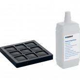 Фильтр из активного угля и дезинфицирующая жидкость для форсунок, в комплекте, для полного комплекта установки Geberit AquaClean