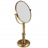 JERRI Зеркало оптическое настольное d18xh35х12 см. (3Х), бронза