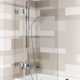 Шторка для ванны VZ SCANDIC NXT X109 95x150 P Черный