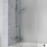 Шторка для ванны VZ SCANDIC NXT X409 600x1500 L/P Хром