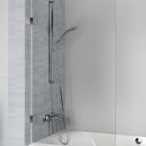 Шторка для ванны VZ SCANDIC NXT X108 650x1500 L Хром