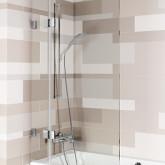Шторка для ванны VZ SCANDIC NXT X109V 850x1500 P Черный