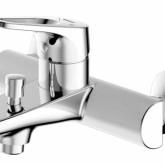 Смеситель для ванны c коротким изливом Bravat Drop-D