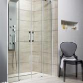Душевая дверь Radaway Espera DWD 140 профиль хром , стекло прозрачное