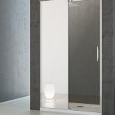 Душевая дверь Radaway Espera DWJ Mirror 120 левая , профиль хром , стекло прозрачное