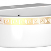 Раковина Della Globus версаче золото